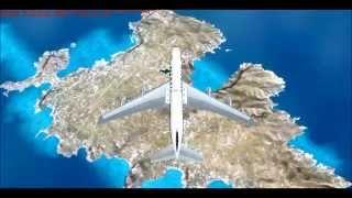 OLYMPIC AIRWAYS B707 TRIBUTE HD - AEGEAN BLUE