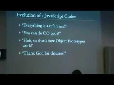 John Resig - Evolution of a JavaScript Coder