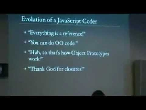John Resig  Evolution of a JavaScript Coder