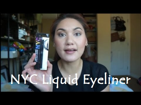 Makeup Review: NYC LIQUID EYELINER