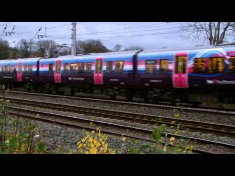 Half An Hour At 73 Golborne Junction Warrington Wigan Wcml Class 92 350