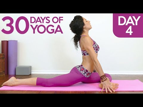 Beginners Splits Lesson ♥ Gentle Yoga for Flexibility with Jess, Day 4 of 30