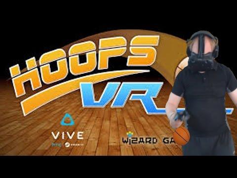 Let's Shoot Some Hoops!   Hoops VR (HTC-VIVE-VR)  