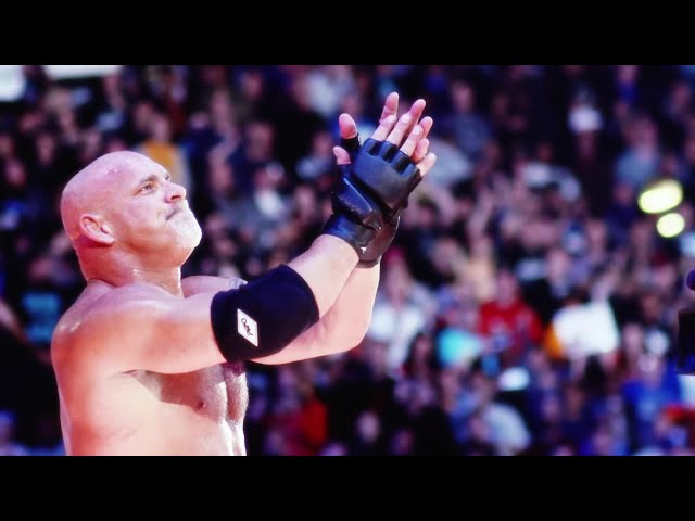 Goldberg joins the WWE Hall of Fame Class of 2018