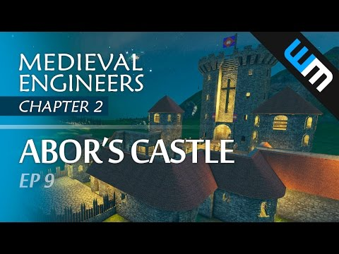 Medieval Engineers, Multiplayer Survival Gameplay - Abor's Castle, Ep 9 (CH2)