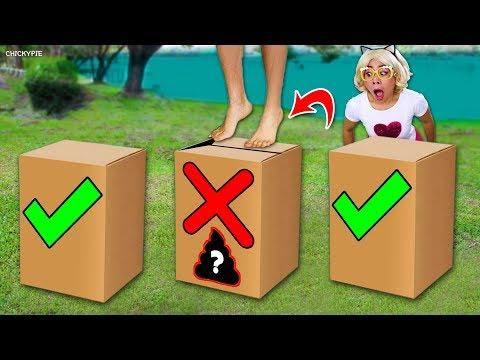 อย่ากระโดดผิดกล่อง 📦😳 ชิคกี้พาย