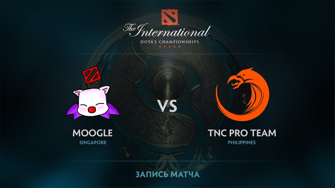 Moogle vs TNC Pro Team, The International 2017 SEA Qualifier