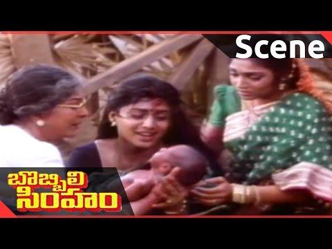 Bobbili Simham Movie ||  Climax Scene  || Balakrishna, Meena, Roja
