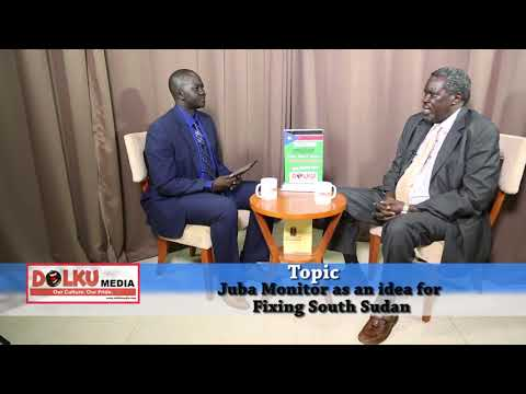 Alfred Taban on the Impact of South Sudan English Daily, the Juba Monitor