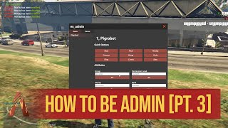 How to set your self as super admin on your own fivem server