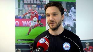 Milan Massop: Dejligt endeligt at være tilbage på banen