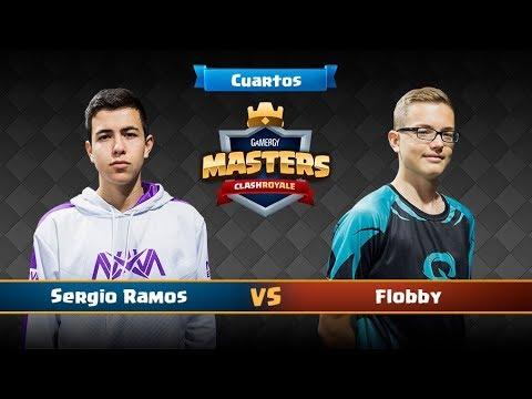 Clash Royale en Gamergy - Sergio Ramos vs Flobby - CUARTOS -  #GamergyMasters