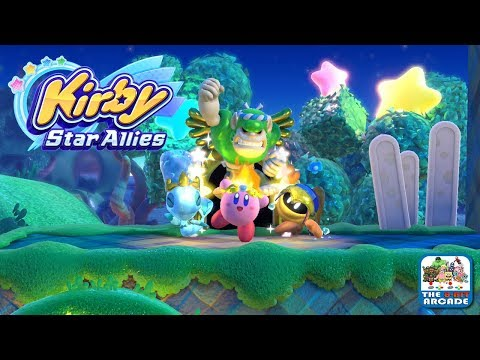 Kirby Star Allies - Clash At Castle Dedede (Switch Gameplay)