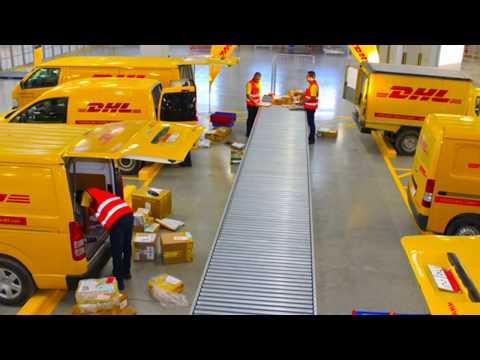 Немецкие Электрофургоны! DHL доставка будущего!