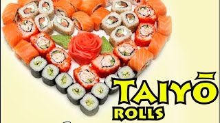 """Вкуснейший сет роллов """"Love сет"""" от Доставка суши и роллов """"Taiyo rolls"""""""