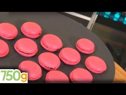 Recette de Macarons à la framboise - 750 Grammes