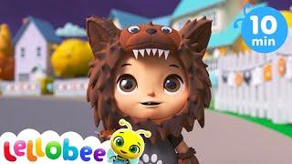 Knock Knock Trick or Treat Song - Happy Halloween! | Kids Learning Videos | Nursery Rhymes