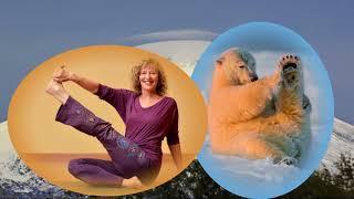 Йога с улыбкой (Yoga with smile)или Кто кому подражает