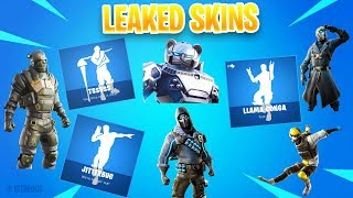 'NEW' FuiteSkins ROGUE SPIDER KNIGHT, VULTURE, LLAMA CONGA Emote - PLUS! Fortnite 10.20 Mise à jour