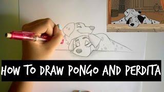 How To Draw Pongo and Perdita | ARTISTX