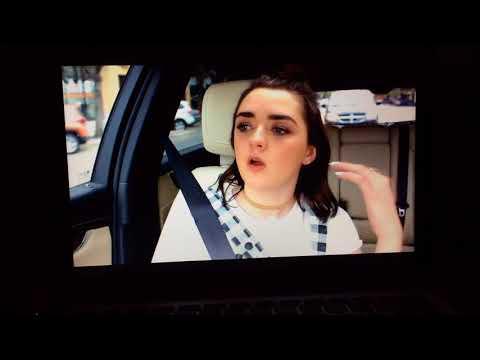 Game of Thrones Maisie Williams and Sophie Turner Bonus Carpool Karaoke