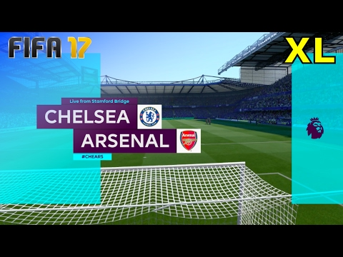FIFA 17 - Chelsea vs. Arsenal @ Stamford Bridge (XL Match)