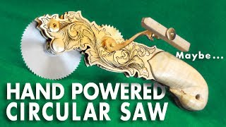 Making a Hand Powered Circular Saw - Surgical Instruments