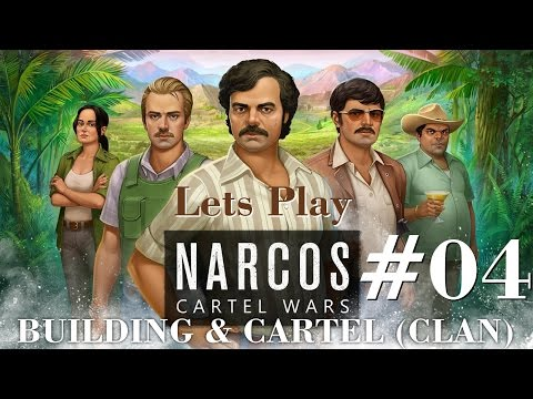 Narcos: Cartel Wars - Gameplay 04 My New Cartel Clan - Review Buildings and their functions