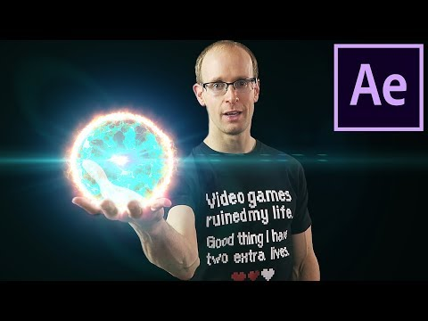 ENERGY BALL VFX - Adobe After Effects Tutorial