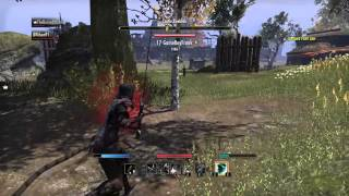 Repeat youtube video The Elder Scrolls Online: Tamriel Unlimited pvp crazy base defence