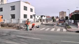 Kralupy TV: Oprava výtluků započala (4. 3. 2017)