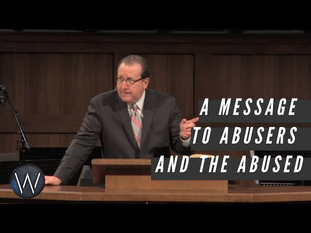 A message to abusers and the abused