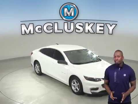 A13046YT Used Chevrolet Malibu White Sedan Test Drive, Review, For Sale -