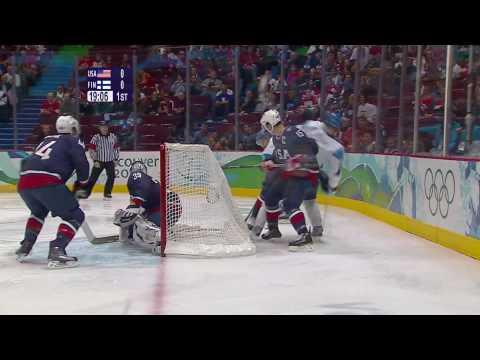 USA 6-1 Finland - Men's Ice Hockey Semi-Final   Vancouver 2010 Winter Olympics