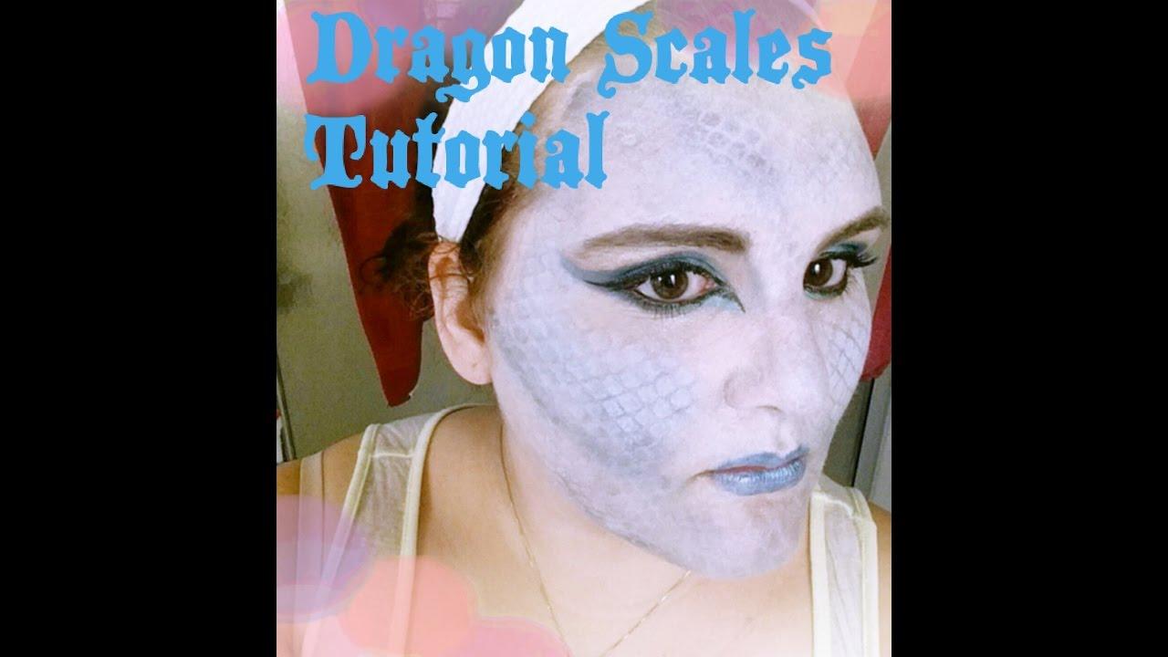 Dragon Scales Makeup Tutorial Youtube