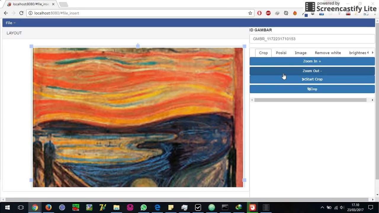 Image Editor HTML5 Using Fabric js