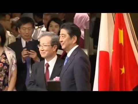 Japanese PM attends event marking anniversary of ties between China and Japan