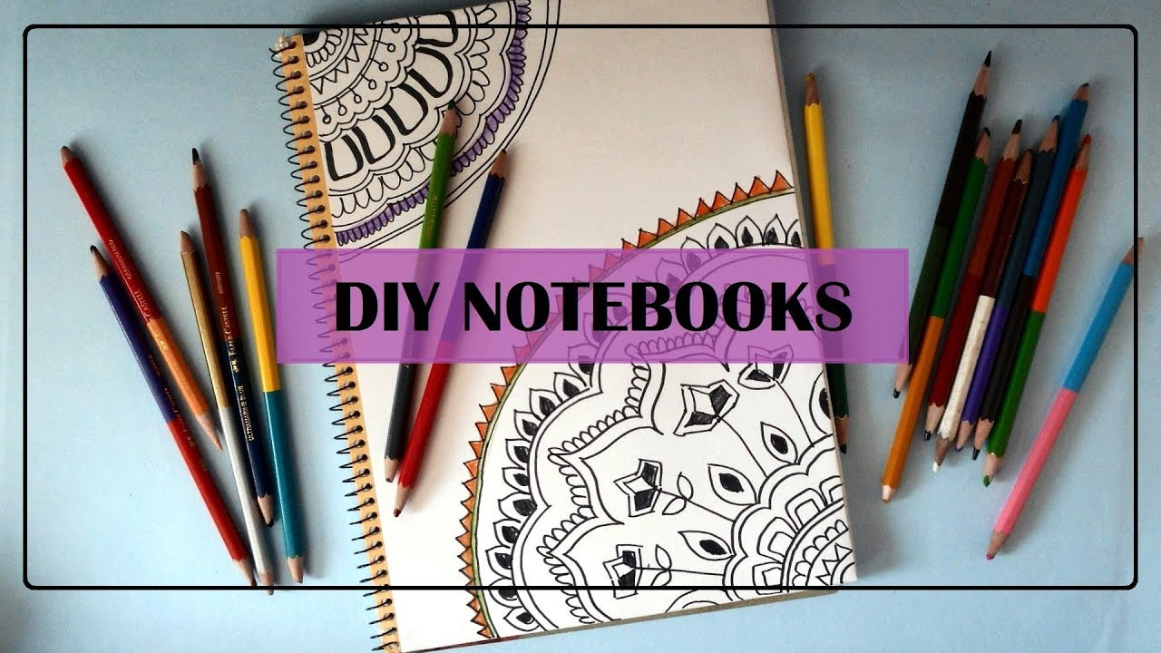 Notebook Cover Ideas : Diy notebook cover ideas part get creative with me