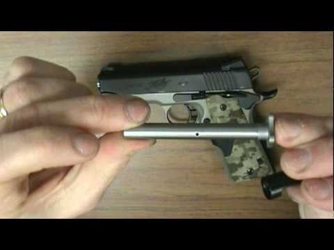 Remarkable, very field strip springfield model 1911 think, that