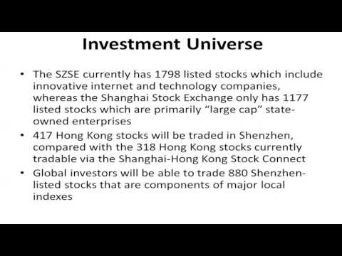 The introduction and analysis on Shenzhen – Hong Kong Stock Connect (Part 2)