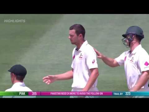 Josh Hazelwood's best ball ever bowled massive reverse swing