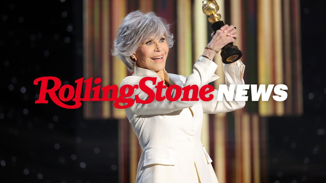 Jane Fonda's Moving Acceptance Speech at the 2021 Golden Globes| RS News 3/1/21