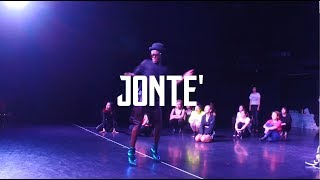 【REI】JONTE'  | Don Ba Von SPECIAL WORKSHOP REVIVAL - HEEL