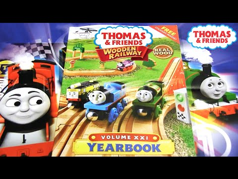 2016 Thomas Wooden Railway Yearbook Review Thomas Friends Youtube