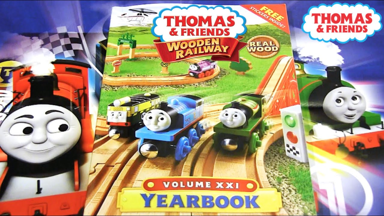 2016 Thomas Wooden Railway Yearbook Review Thomas Friends