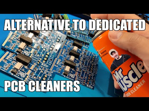 SDG #102 Brake Cleaner - Low Cost Effortless PCB Cleaning!