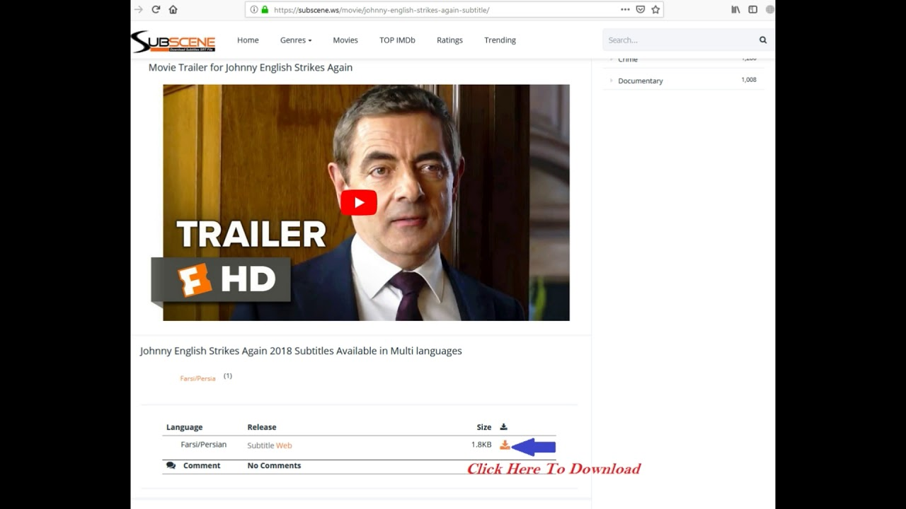 How To Download Movies Subtitle From Subscene ws