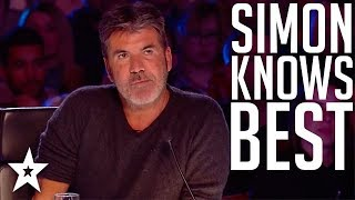 Top 10 Simon Cowell\'s I Know Best Moments on Got Talent Global