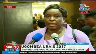 Mgombea urais Truphena Kerubo akosa idhini kwa kukosa vyeti #Maamuzi2017
