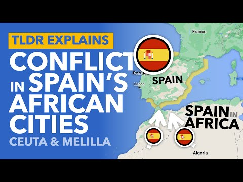 Spain's Secret African Cities: A Migrant Crisis on the 'European' Border - TLDR News